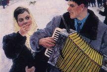 umenie-ruskí maliari