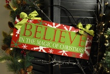 Christmas... My favorite time of year! ( I become an elf, shhhhh) / by Kellie Boyer