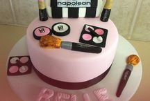 Napoleon make up cake / Napoleon make up cake