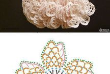 花の編み図
