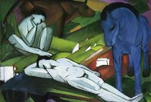 Painting. Franz Marc