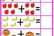 matemáticas infantil