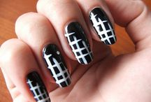 Nails / Criss cross nails