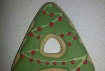 Galletas Navidad / Elaboración propia. Royal icing