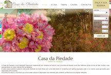 Site - Casa da Piedade / Site