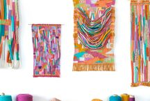Art - Woven Wall Hangings / Woven, tapestry, modern, abstract; all wall hangings.