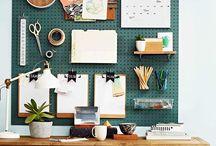 desk organise