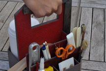 Boite a outils en carton