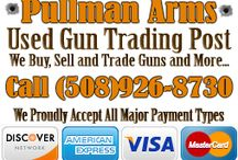 Pullman Arms / We sell and repair all types of handguns and long guns. Bring your gun to Pullman Arms and have it customized to your own style. You'll love your custom gun!