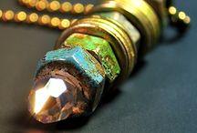 """Industrial Jewelry - Rust Miner / Acessórios criados com inspiração """"Pós Apocalíptica"""" um gênero da ficção cientifica."""