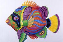 Çok renkli balık