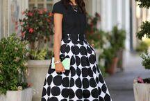 polka skirts