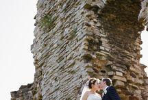 svadobne foto hradby