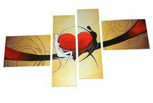 Decorativo / Quadri dipinti a mano