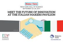 Makers Italia Back @World Maker Faire New York 2017 / The Italian Trade Agency is back at the World Maker Faire in New York this September (2017) with 15 of Italy's leading Makers. Find out more at www.makersitalia.com