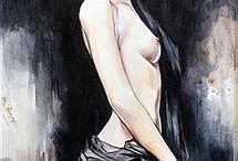 tableau nue