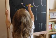 Kindergarten (4yrs) / Inspirations for preschool learning at home. Lesson plan ideas.