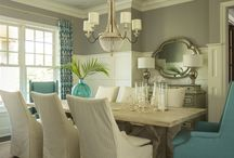 Dining tables / by Becky Primeaux
