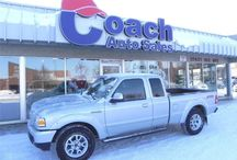 Used Ford F-150 Trucks and Ford Fiestas / At Coach Auto Sales, we have a wide selection of high quality used Ford F-150 pick-up trucks and Ford Fiesta cars.  Visit our website at www.coachautosales.ca today to view our Ford inventory!