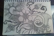 My stuff / My creations, my doodles, my inspiration, my fun - made by me