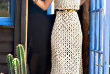Horgolt ruhák / Crochet dresses