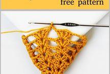 corbatas crochet
