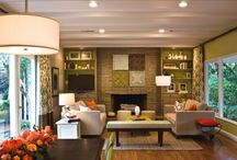 living rooms / by Sherry Kerr