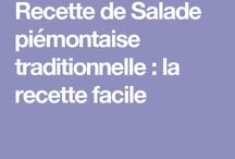 Salade froide
