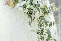 Hääkimppu ja kukat
