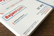 Deluxe Business Cards / A few samples of  our range of over 70 types of business cards.