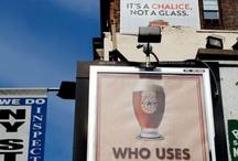 Wars of ads. / Advertising wars.