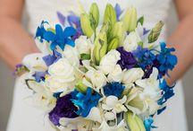 ARTFLOWER: Blue, Ocean and wedding bells
