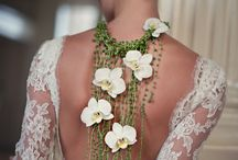 Wedding Flower Necklace Accessories