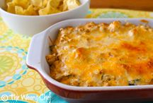 Easy taco dip with turkey mince