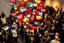 Longchamp celebrates 20 Years of Le Pliage with Assouline and artist Sarah Morris / by ASSOULINE