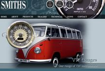Gauges for VW Camper Vans, Vans and Cars / #Gauges such as speedometers and fuel & air gauges supplied by CAI and #Smiths Instruments for #VW #cars and #vans