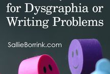 Dysgraphia or writing problems