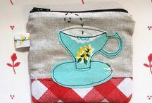 Coffee/Flour Bags / Coffee bags, coffee, coffee art, art, burlap, designs