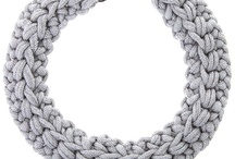 T Shirt yarn jewelry