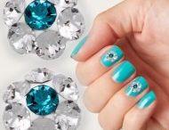 Bijuterii cristale swarovski pentru unghii