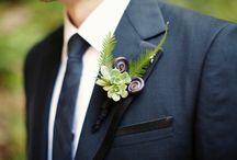 Weddings - Men's Buttonholes