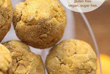 Pumpkin cookies Gluten free dairy free & SUGAR FREE