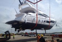 Yacht Loading / Complete Marine Freight transports yachts and freight globally. Here are some images of loading the yachts...