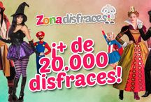 Zona Disfraces / Encuentra en Zona Disfraces más de 15.000 referencias en disfraces originales, accesorios, complementos y maquillaje.