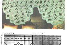 hekla gardinkappe og blonder