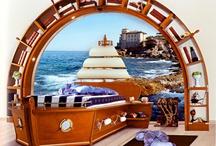 Gemi Temalı Çocuk Odaları / Gemi Temalı Çocuk Odaları
