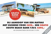 Big Pillows Actie / Gratis Bank t.w.v. 595,- (geldig tot eind september)