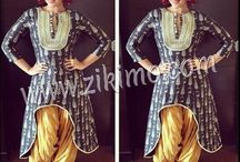 High & Low Style Indian Suits / High & Low Style Indian Suits