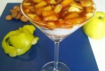 Copa de yogurt y manzana caramelizada / Las mejores recetas: http://golosolandia.blogspot.com/2013/05/copa-de-yogurt-y-manzana-caramelizada-receta-casera.html