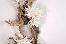 Floral Sculptures & Custom Sculpture Designs from LDF Silk / LDF Silk's sculptural pieces will vary as each piece utilizes natural elements and is hand made.